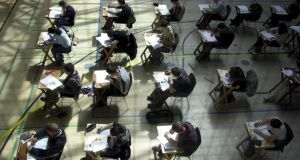 The revised Framework for Junior Cycle confirms that English will be the first subject assessed through classroom-based exercises in conjunction with a shorter exam at the end of third year. File photograph: Eric Luke/The Irish Times