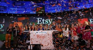 Late last year, Etsy reorganised that Irish unit as an unlimited liability company. Photo: Getty Images