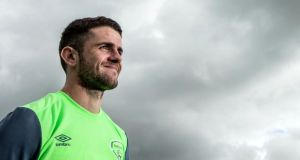 Robbie Brady sought move away  from Hull after the club's relegation. Photograph: James Crombie/Inpho