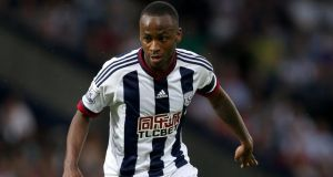 Saido Berahino: player has said on Twitter that he will never play for West Brom. Photograph: David Davies/PA Wire