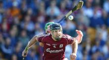"Galway's David Collins: ""The intensity and workrate required to beat Kilkenny is going to be twice what we brought to Tipperary.""  Photograph: Cathal Noonan/Inpho"