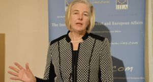 Catherine Day: former secretary general of the European Commission is succeeded by Alexander Italianer. Photograph: Alan Betson