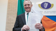 Joe Schmidt becomes a 100% certified Irish