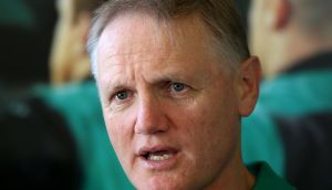 Coach Joe Schmidt will confirm team selection at lunchtime on Thursday. Photograph: Dan Sheridan/Inpho