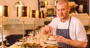 Sean Smith, head chef at the Cliff Townhouse in Dublin