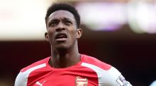 "Striker Danny Welbeck has undergone surgery on his left knee and will be out for ""a period of months"", Arsenal have announced. Photo: Adam Davy/PA Wire."