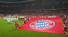 Bayern Munich will donate €1 million to refugees. Photograph: Getty