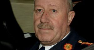 "Former Garda commissioner Martin Callinan was ""removed from his office"", according to the head of the Garda Representative Association PJ Stone. File photograph: David Sleator/The Irish Times"