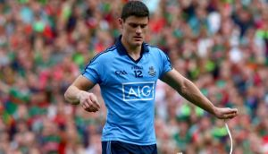 Diarmuid Connolly has lost his appeal against the one game suspension he received following his red card during Dublin's All-Ireland semi-final draw with Mayo. Photograph: Inpho