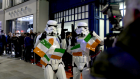 Star Wars fanfare arrives in Dublin