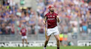 Galway's Joe Canning: Galway really need him to be man of the match but only in a functioning attack. Photograph: INPHO/James Crombie