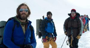 Ice cold: Jason Clarke, Josh Brolin and Jake Gyllenhaal  in the film Everest.