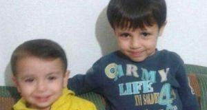 Aylan Kurdi, with his brother Galip, who both died trying to reach Europe: Aylan 'deserves a public campaign to bring more of his fellow Syrians, and other refugees here'.