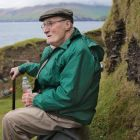 Michael J Carney on the Great Blasket Island, Co Kerry, where he was born in 1920. He died in August in Massachusetts at the age of 94. Photograph: Valerie O'Sullivan