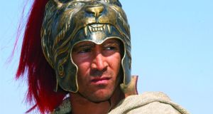 "Alexander the Great (Colin Farrell): ""He is said to have wept because there were no more worlds left to conquer. The rest of us would have sighed with relief and had a nice cup of tea."""