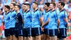The Dublin team in Croke Park last Sunday. Imagine the agony of Dublin fans watching it all dissolve. Photograph: INPHO/Donall Farmer
