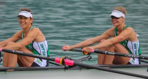Claire Lambe and Sinead Jennings have secured a place at the Rio Olympics in the women's double sculls.