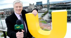 Pat Kenny hosted five episodes of the television show for UTV earlier this year. Photograph: Maxwells