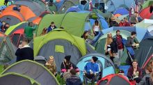 The campsite: Some 47,000 tickets were sold for this year's Electric Picnic festival in Stradbally, Co Laois