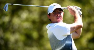 Rory McIlroy has struggled to make a move at the Deutsche Bank Championship in Boston. Photograph: Getty
