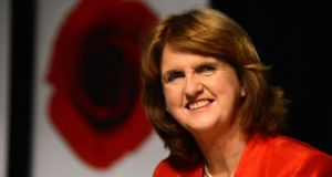 "Tánaiste Joan Burton: ""We have to respond as human beings to the biggest crisis that has faced Europe."""