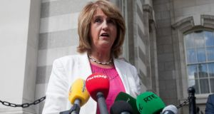 Tánaiste  Joan Burton: Believes the State should accept 5,000 migrants, mainly from Syria and Eritrea. Photograph: Gareth Chaney/Collins