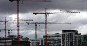 The value of production for building and construction in the second quarter was up 3.9 per cent