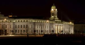 Cork City Hall: politicians in urban and rural areas are divided on plans to merge Cork city and county councils. Photograph: Getty Images