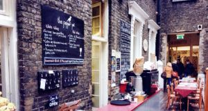 The Pepper Pot Cafe in the Powerscourt Towncentre: home of excellent eggs