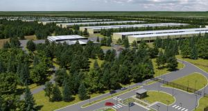 Planning permission has been granted to US technology giant Apple to build a new data centre near Athenry, Co Galway.