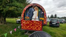 Our Wedding Story: from Galway and Lesotho to  a teepee in Laois