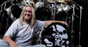 "Nicko McBrain: ""This is early Maiden, this is progressive Maiden"". Photograph: Joby Sessions/Rhythm Magazine via Getty Images"