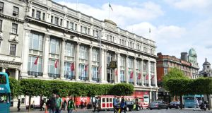 The former Clerys department store on Dublin's O'Connell Street: the sense of shock among those affected is still palpable. Photograph: Aidan Crawley