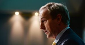 Kenny downplays expectation of giveaway budget following strong exchequer returns. Photograph: The Irish Times