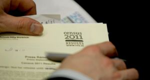 The last census was held in April 2011. (Photograph: David Sleator/The Irish Times)