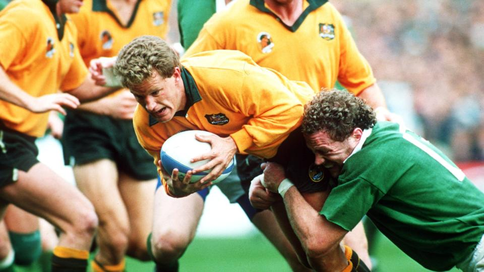 RWC 7 Michael Lynagh Breaks Irish Hearts