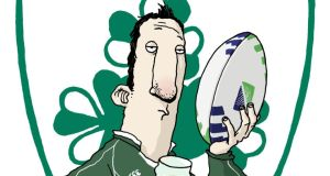 Ross O'Carroll-Kelly: Paul Howard was collared by one UCD student who was convinced the column was written by Brian O'Driscoll. Illustration: Alan Clarke