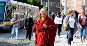 Buddhist master Ringu Tulku Rinpoche. Photograph: Alan Betson/The Irish Times