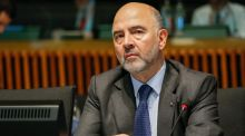 Pierre Moscovici, European commissioner in charge of economic and financial affairs. Photograph: Julien Warnand/EPA