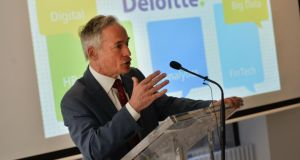 Ministerial action: Richard Bruton claimed the Action Plan for Jobs could help create 25,000 jobs in the southeast over the next five years. Photograph: Sara Freund