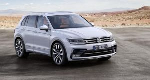 VW has developed four distinct sub-models for the Tiguan though – a basic 'vanilla' model, a more rugged off-road-style version, a very sporty and aggressive looking R-Line version and, still billed as a show car but definitely destined for production, a plugin hybrid GTE model