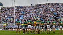 Dublin and Kerry: since 1928 Sam Maguire has gone to Kerry 30 times but to Dublin only 10 times. Photograph: James Crombie/Inpho
