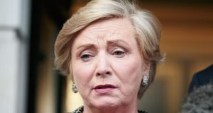 Minister for Justice and Equality Frances Fitzgerald who brought the  Criminal Law (Sexual Offences) Bill to Cabinet on Wednesday. Photograph: Collins