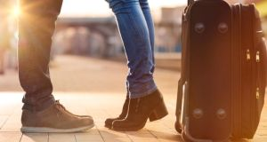 In the 12 months to April,  35,300 Irish nationals left the country, down 13 per cent on the previous year. Photograph: Thinkstock