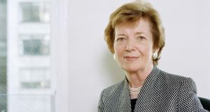 Mary Robinson: '60 years after the rural electrification of Ireland, there are still 1.3 billion people on the planet with no access to electricity.'