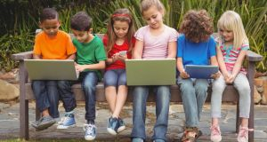 Digital natives:  Of course kids can't be monitored 100 per cent of the time; but did parents ever manage that? Photograph: Thinkstock