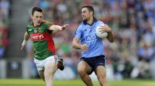Dublin have developed a more defensive system this season but as they struggled in the All-Ireland semi-final replay, James McCarthy  attacked the Mayo rearguard with gusto. Photograph: Tommy Grealy/Inpho