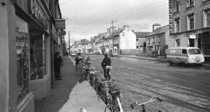 How Kiltimagh used to look: the town's main street in 1967. Photograph: Gordon Standing