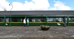 Historic: Kiltimagh's museum, at the town's old railway station. Photograph: Alan Betson