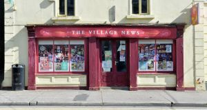 Closed: the Village News in Kiltimagh. Photograph: Alan Betson